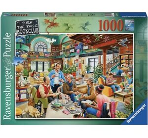 Ravensburger TURN THE PAGE BOOK CLUB Jigsaw Puzzle -1000 pc - FREE UK P&P