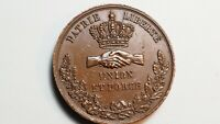 MEDAILLE - PATRIE LIBERTE UNION FORCE -  FETE NATIONALE - NANTES - 1831 -