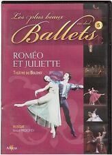 DVD LES PLUS BEAUX BALLETS : vol 05 romeo et juliette