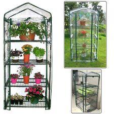 160cm Galvanised Steel Frame Greenhouse w/ Waterproof Cover Seed Plant Growing