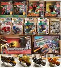 Transformers G2 MicroMan Laser Cycles Road Rocket Pig Lot Action Master Axer