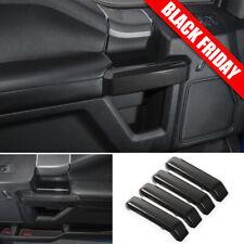 Carbon Fiber Truck Interior Decor Door Handle Cover Trim For Ford F150 2015-2019