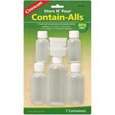 Coghlan's Store N 'pour contienen-Alls (7 Pack), Reutilizable botellas y contenedores