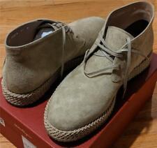 "$775 Mens Salvatore Ferragamo ""Alpes"" Suede Chukka Boots Beige 11 D"