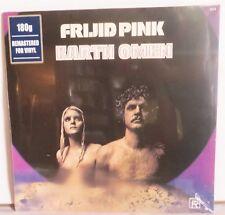 Frijid Pink Earth Omen LP Vinyl Record new