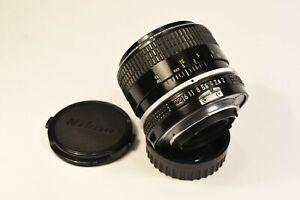 Objectif Nikon Nikkor 35mm f2 Pré AI