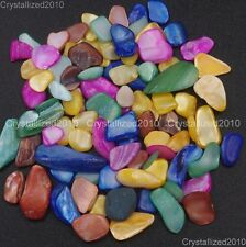 Natural Gemstones 5-8mm Slice Chip Beads Nail Art Accessorie Decoration Manicure