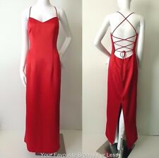 EVENTS  Long Sleeveless Maxi Dress Evening Gown Size 10 US 6 Made In Australia