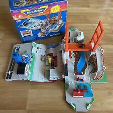 Micro Machines Super City Toolbox w Orignal Box Cars Airplanes Galoob 1988
