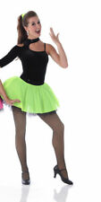 Everbody Talks Dance Tap Jazz Costume LIME Size ADULT 2XL