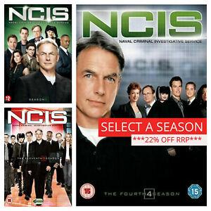 NCIS Season 1 2 3 4 5 6 7 8 9 10+ DVD Box Set - Pick a complete series