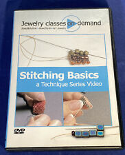 Jewelry Classes On Demand: Stitching Basics-A Technique Series Video (DVD, 2010)