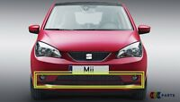 NEW GENUINE SEAT MII 12-16 FRONT BUMPER CENTER LOWER GRILL BLACK 1SL853677B9B9