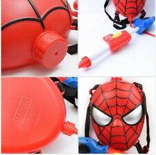 Marvel Avengers Spider Man Backpack Water Gun Squirt Shoots for Kids