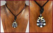 Modeschmuck-Halsketten & -Anhänger aus Muschel-Material mit Perlmutt für Damen