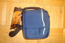 FORAY Camera Case Case Travel Tote Carry-on / Blue canvas  * Med-Small Camera