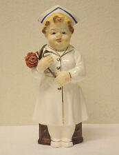 VTG Enesco Japan Porcelain Nurse Doll! WOW! All Original! RARE!