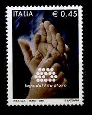 Zeichensprache mit Hände. Lega del Fila d'Oro. 1W. Italien 2004