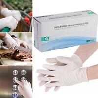 [100PCS/BOX] Vinyl Gloves Exam Non-Sterile Power Free Ambidextrous - Extra Large
