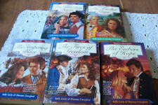 5 Books Freedom's Holy Light Series Laity & Crawford Gathering Dawn Kindled Flam