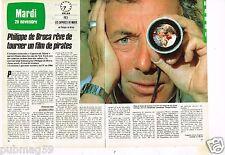 Coupure de presse Clipping 1983 (2 pages) Philippe de Broca