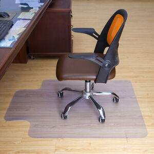 Transparent Nonslip Mat Chair Cushion for Living Room Study Office Floor Protect