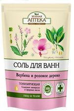 6302 sal de baño Verbena y minerales ricos Árbol Rosa 500g Verde Farmacia