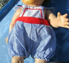 "Doll Clothing Sailor Jumper Romper Outfit 60s Dydee Baby Tiny Tears 15""-17"""