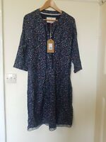 Brakeburn Ditsy Floral Lace Hem Dress Size 16