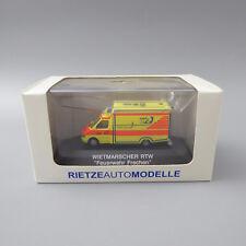 Rietze 61525 Wietmarscher RTW Rettungswagen Feuerwehr Frechen    (B)