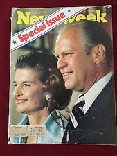 Newsweek Magazine August 19, 1974 Special Issue Gerald & Betty Ford