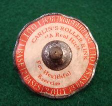 1918 Carlin's Roller Skating Rink Baltimore Baseball Game Spin Top Toy