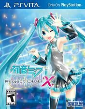 Hatsune Miku: Project Diva X - English - PlayStation Vita