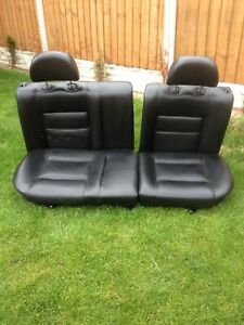 Mk3 Mk2 Golf  GTI 3dr 16v  Leather Rear Seats .