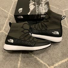 North Face Mens Touji Mid Lace Lightweight Sneaker Boot Black Olive MSRP $150