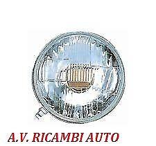 FARO FANALE PROIETTORE ANTERIORE DX = SX FIAT 500 F/L DAL 65 AL 75 R2 S/CORNICE