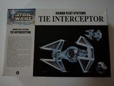 STAR WARS TIE INTERCEPTOR FINE MOLDS 1/72 2003 MODEL KIT MODELE REDUIT