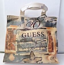 Guess Canvas TOTE Bag Celebrating 20 Years  NWT