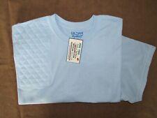 2Xl Right Hand Trap/Skeet Pad Light Blue 50/50 Dryblend Shooting T-Shirt/Gildan
