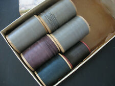 Antique American Thread Co Buttonhole Gimp Thread Intrinsic Belgium F&FR 1930s