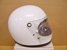 Vintage NOS Shoei S12 S 12 Motorcycle Full Face White Helmet Large