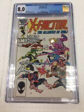 1984 X-Factor VS. The Alliance of Evil! #5  CGC 8.0