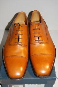 New Charles Tyrwhitt Tan Harley Oxford Style Shoes Sz 12