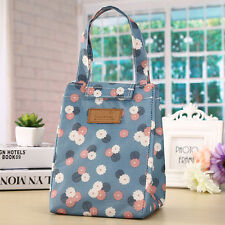 Portable Insulated Thermal Cooler Lunch Box Storage Bag Picnic Container Tote