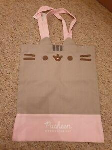 Officially Licensed Pusheen the Cat Tote Bag Handbag Canvas Shopper