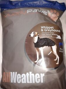 Ancol Whippet & Greyhound Coat, 3 sizes available
