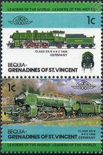 1908 KBStB Class S3/6 4-6-2 (Bavarian Railway Germany) Train Stamps / LOCO 100