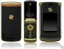 2GB ORIGINAL Motorola RAZR2 V8 Luxury Edition GOLD 100% UNLOCKED Cellular Phone