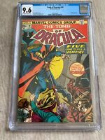 Tomb of Dracula #28 Marvel 1/75  CGC 9.6 BLADE appearance.