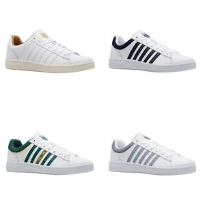K-Swiss Court Winston Herren Sneaker | Turnschuh | Sportschuh | Leder, Textil -